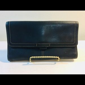 FOSSIL Black Leather Wallet